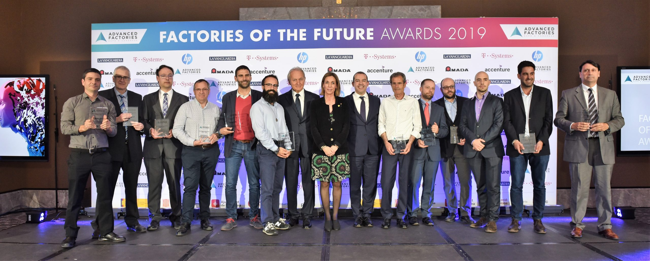 Inteligencia Artificial e industria 4.0, los grandes valores de los finalistas de los Factories of the Future Awards 2020