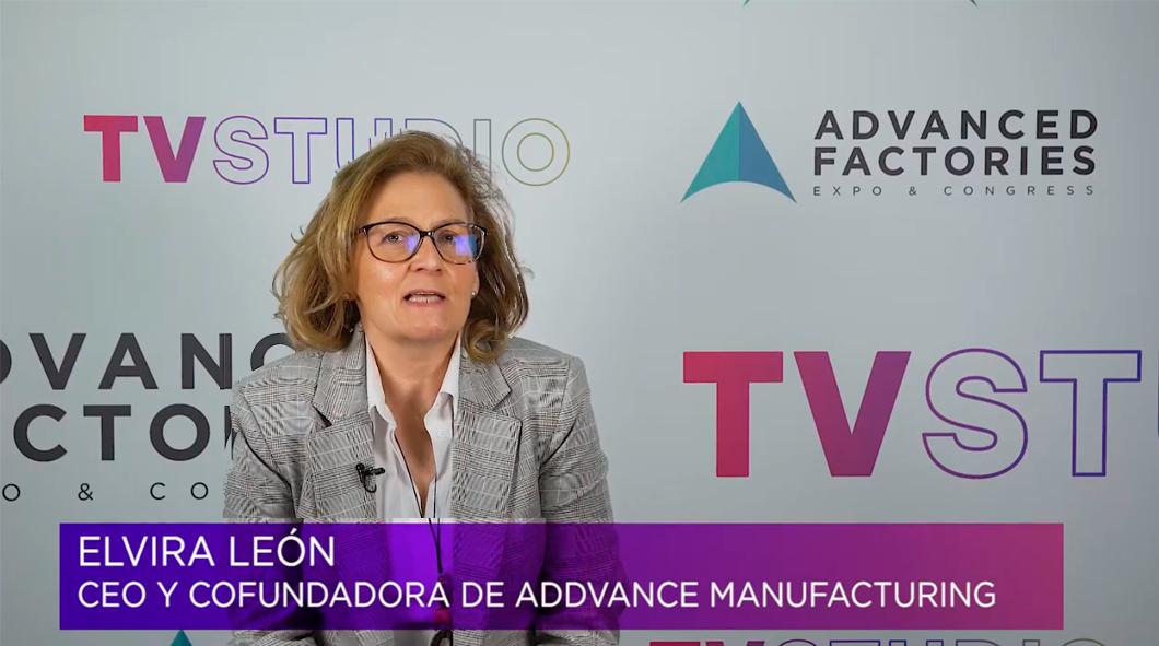 Elvira León, Entrevista en Advanced Factories
