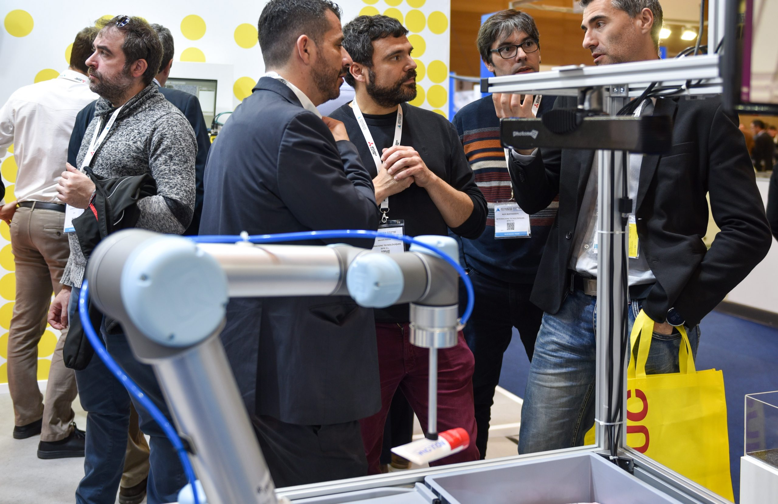 The fifth edition of Advanced Factories will analyse how to take advantage of automation and robotics to increase productivity