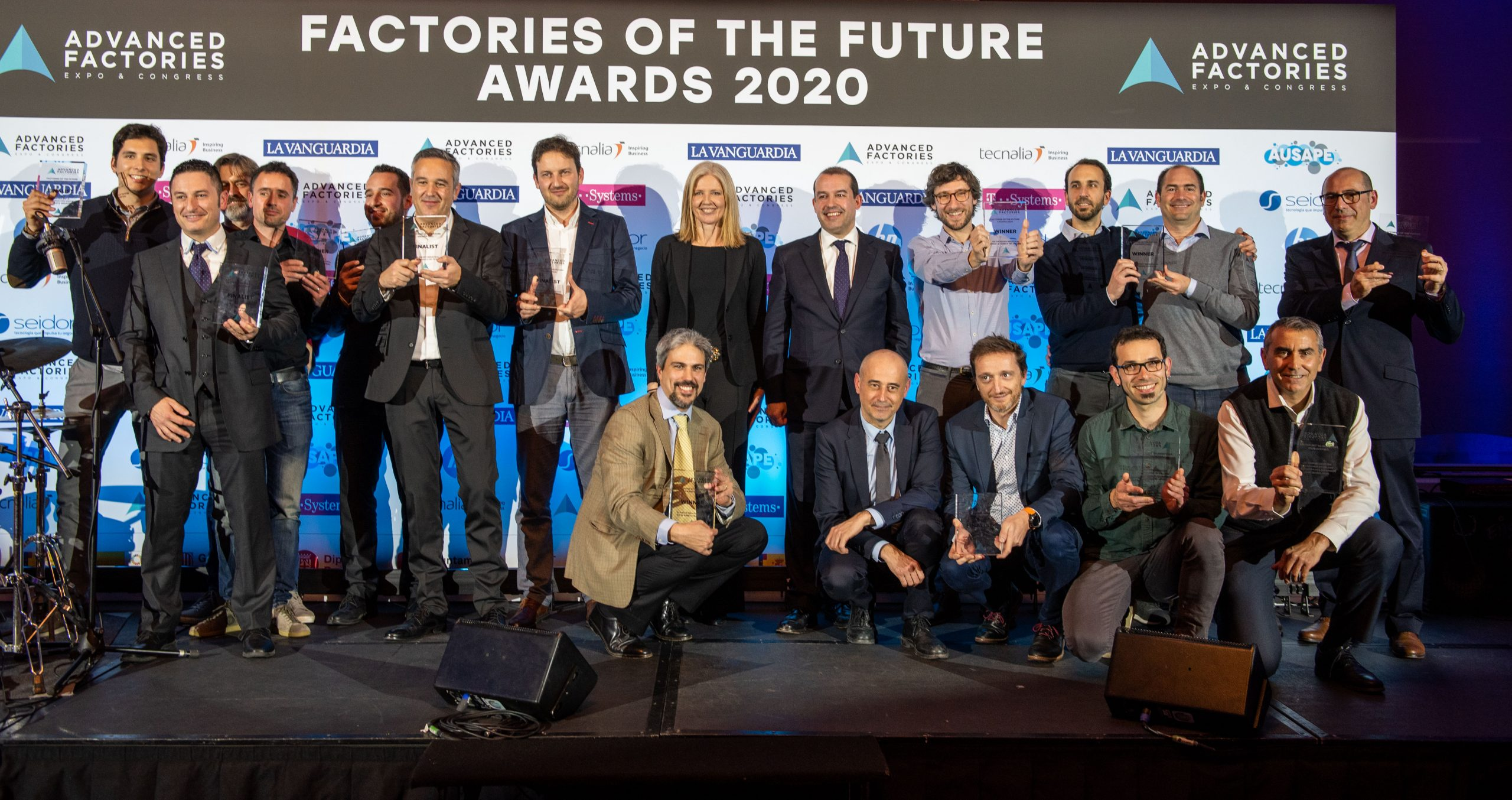 Advanced Factories premia la innovación en la industria con los Factories of the Future Awards 2021