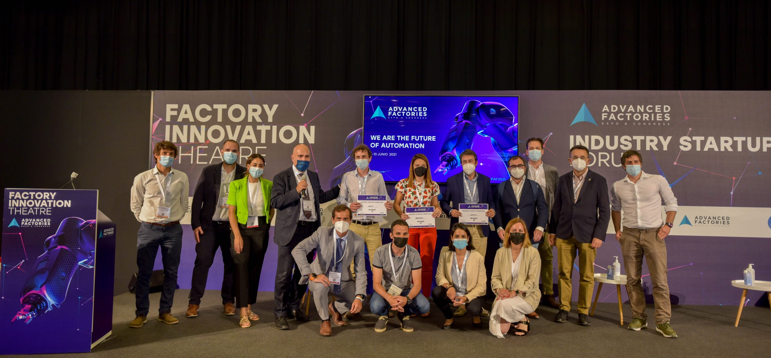 Las startups industriales más disruptivas se centran en la inteligencia artificial para transformar las fábricas