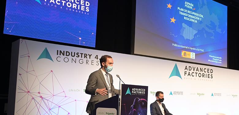 Jordi Llinares en Advanced Factories 2021