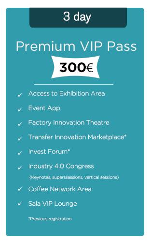 Advanced Factories Premium Pass