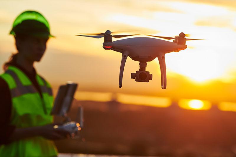 drones en la industria 4.0