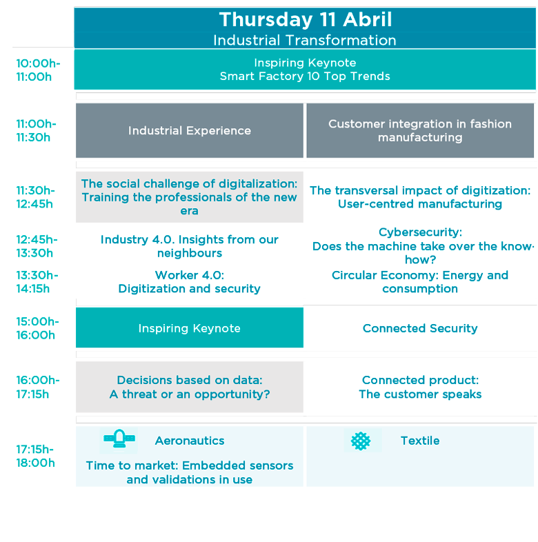 Agenda Jueves 11